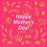 szczęśliwe dzień matki Obrazy Stock