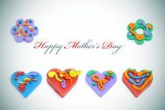 szczęśliwe dzień matki Fotografia Stock