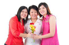 szczęśliwe dzień matki Obraz Stock