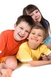 szczęśliwe dzieci Zdjęcie Royalty Free