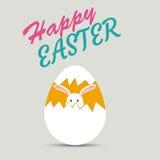 Szczęśliwe Easter karty ilustracyjne Fotografia Stock