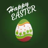 Szczęśliwe Easter karty ilustracyjne Zdjęcie Stock
