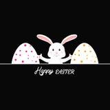 Szczęśliwe Easter karty ilustracyjne Obrazy Stock