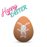Szczęśliwe Easter karty ilustracyjne Obrazy Royalty Free