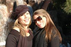 szczęśliwe kobiety Zdjęcia Stock