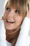 szczęśliwe kobiety Zdjęcie Royalty Free