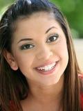 szczęśliwe młode dziewczyny zdjęcie stock
