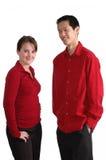 szczęśliwe młode pary fotografia royalty free