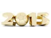 Szczęśliwe nowego roku 2014 ilustracje 3d Fotografia Stock