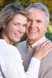 szczęśliwe par starsze osoby obrazy stock