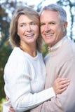 szczęśliwe par starsze osoby Zdjęcie Stock
