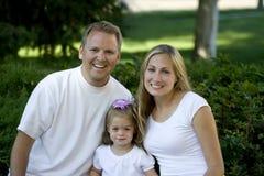 szczęśliwe rodzinne young Obraz Stock
