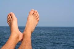 szczęśliwe stopy Fotografia Royalty Free