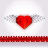 Szczęśliwe valentines pielenia i dnia karty royalty ilustracja