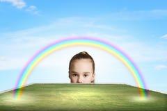 szczęśliwego dzieciństwa Fotografia Royalty Free