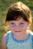 szczęśliwego dziecka portret Zdjęcia Royalty Free