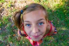 szczęśliwego dziecka portret Fotografia Royalty Free