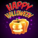 szczęśliwego halloween Obrazy Royalty Free
