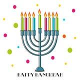 szczęśliwego hanukkah ilustracji