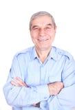 szczęśliwego mężczyzna dojrzały portret Obraz Stock