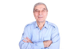 szczęśliwego mężczyzna dojrzały portret Zdjęcie Stock