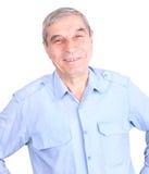 szczęśliwego mężczyzna dojrzały portret Zdjęcie Royalty Free
