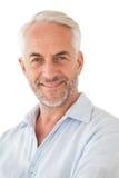 szczęśliwego mężczyzna dojrzały portret Zdjęcia Royalty Free
