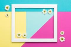 Szczęśliwego Macierzystego ` s dnia, kobiet ` s, dnia, walentynki ` s dzień, lub urodziny Pastelowy cukierek Colours tło Kwiecist Fotografia Royalty Free