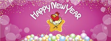 13 Szczęśliwego nowego roku 17 FB Zdjęcie Stock