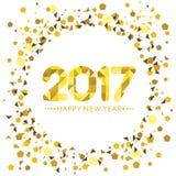 Szczęśliwego nowego roku Karciany projekt Zdjęcia Stock