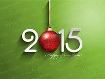 szczęśliwego nowego roku tło Zdjęcia Royalty Free