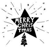 Szczęśliwego nowego roku typograficzni emblematy ustawiający Wektorowy logo, teksta projekt czarny white Używalny dla sztandarów, obrazy royalty free