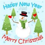 szczęśliwego nowego year2 obrazy royalty free