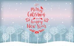 szczęśliwego wesoło nowego roku karciani boże narodzenia Zdjęcia Royalty Free