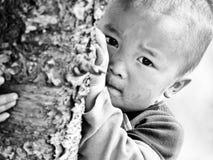 Szczęśliwi Biedni Dzieci Zdjęcie Stock