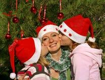 szczęśliwi Boże Narodzenie wakacje Zdjęcia Stock