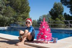 szczęśliwi Boże Narodzenie wakacje  wesołych świąteczną kartkę zdjęcia stock