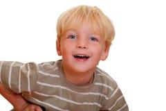 szczęśliwi chłopiec potomstwa Obrazy Royalty Free