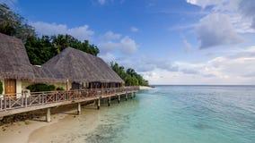Szczęśliwi dni w Maldive Obraz Stock