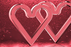 szczęśliwi dzień valentines Zdjęcia Stock
