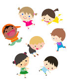Szczęśliwi dzieci Zdjęcie Royalty Free