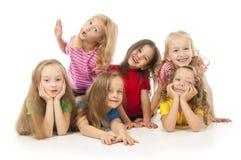Szczęśliwi dzieci Zdjęcia Royalty Free