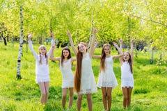 Szczęśliwi dzieci Fotografia Royalty Free