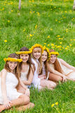 Szczęśliwi dzieci Fotografia Stock