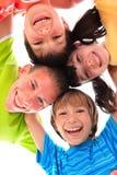 szczęśliwi dzieci potomstwa Zdjęcia Royalty Free