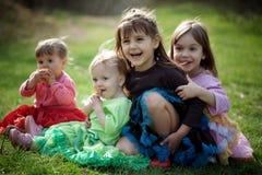 szczęśliwi dzieciaki Zdjęcia Stock
