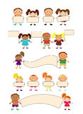 szczęśliwi dzieciaki Obrazy Stock