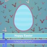 Szczęśliwi Easter jajka Zdjęcia Stock