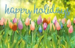 Szczęśliwi Easter wakacje royalty ilustracja
