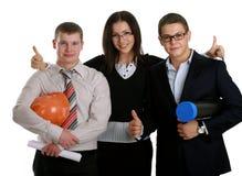 szczęśliwi grup biznesowych ludzie fotografia royalty free